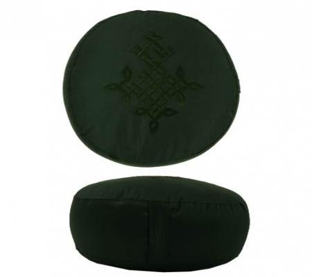 meditationskissen farbe gr n keltischer baum des lebens f llung buchweizen triskell 39 s. Black Bedroom Furniture Sets. Home Design Ideas